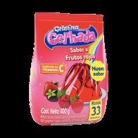 Gelatina Tradicional sabor a Frutos Rojos | 400g